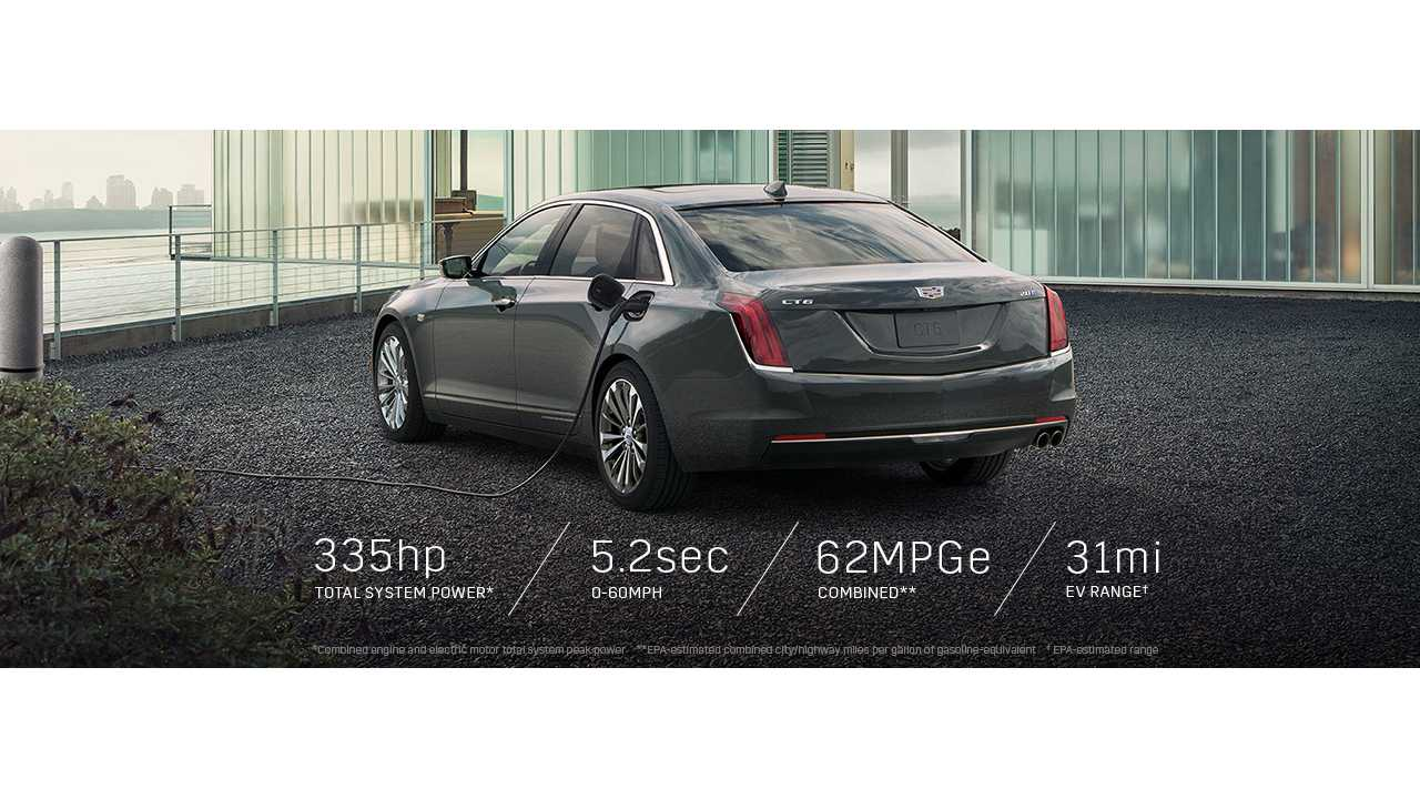 The All-New Cadillac CT6 PHV Arrived In The US In March. But It's Not Nearly As Efficient As Hoped