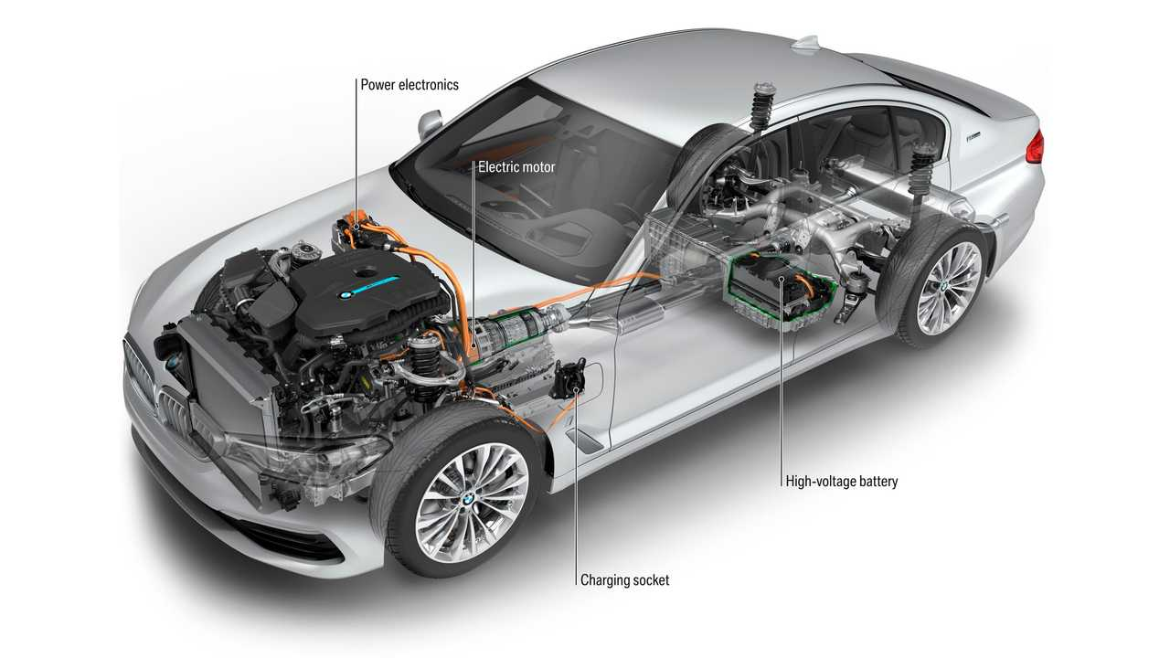 Magna To Now Also Build The BMW 530e Plug-in Hybrid