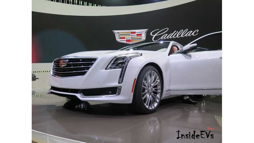 Plug-In Cadillac CT6 Has Arrived In The US, Complete With 31 Miles Electric Range