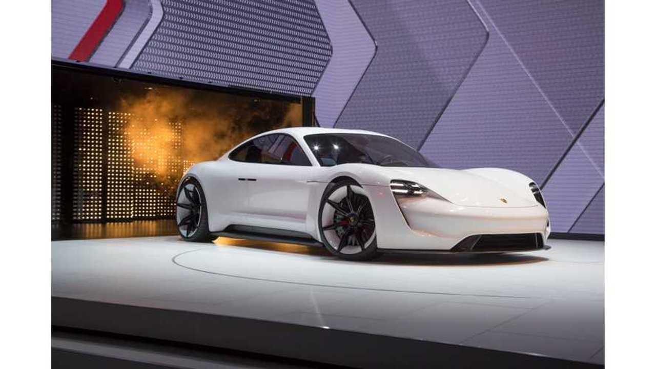 Porsche Deepens EV Commitment With ... A New Announcement