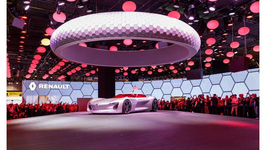 Renault TreZor At The Paris Motor Show - Live Photos & Videos