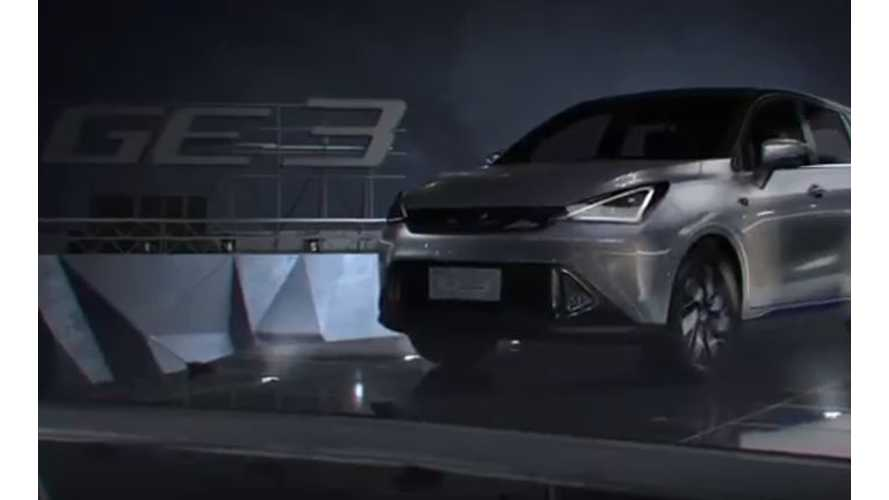 China's GAC Unveils GE3 Electric Hatchback, Says Will Come To US - Video