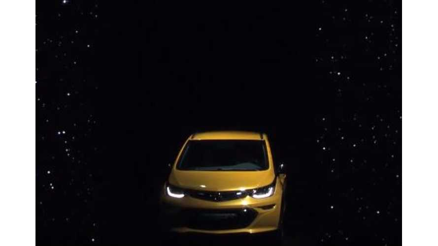Opel Ampera-E Debut Video From Paris
