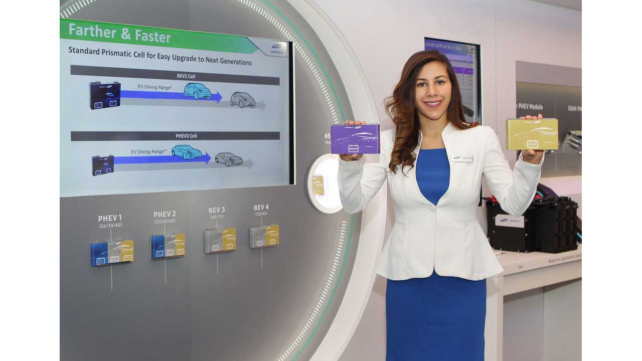 Samsung SDI Announced Next Generation Battery For 600 km (373 Mile) BEVs, Rechargeable In 20 Minutes!