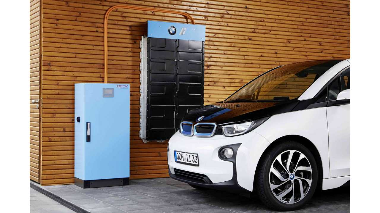 BMW Rolls Out Massive i3-Powered Energy Storage System - 22 or 33 kWh