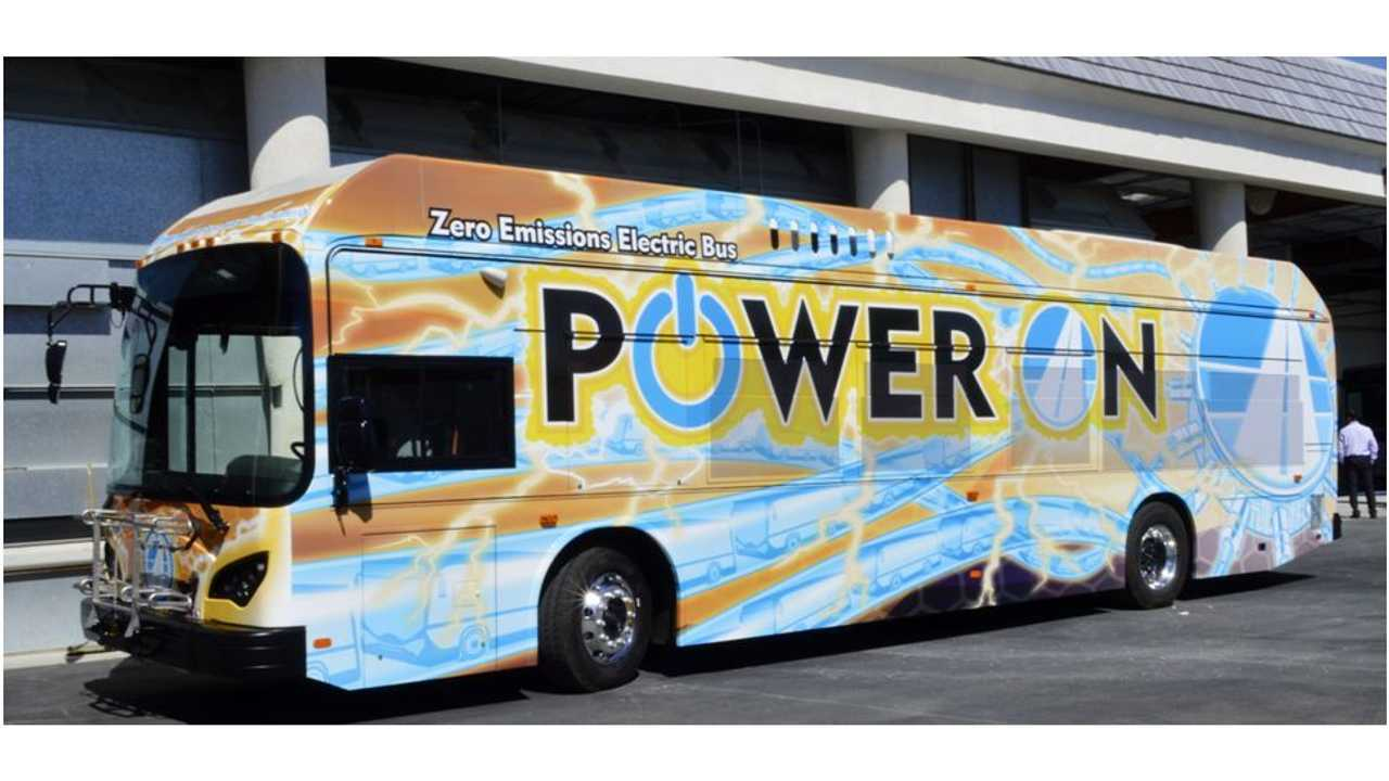 BYD Drives Electric Bus From California To Houston