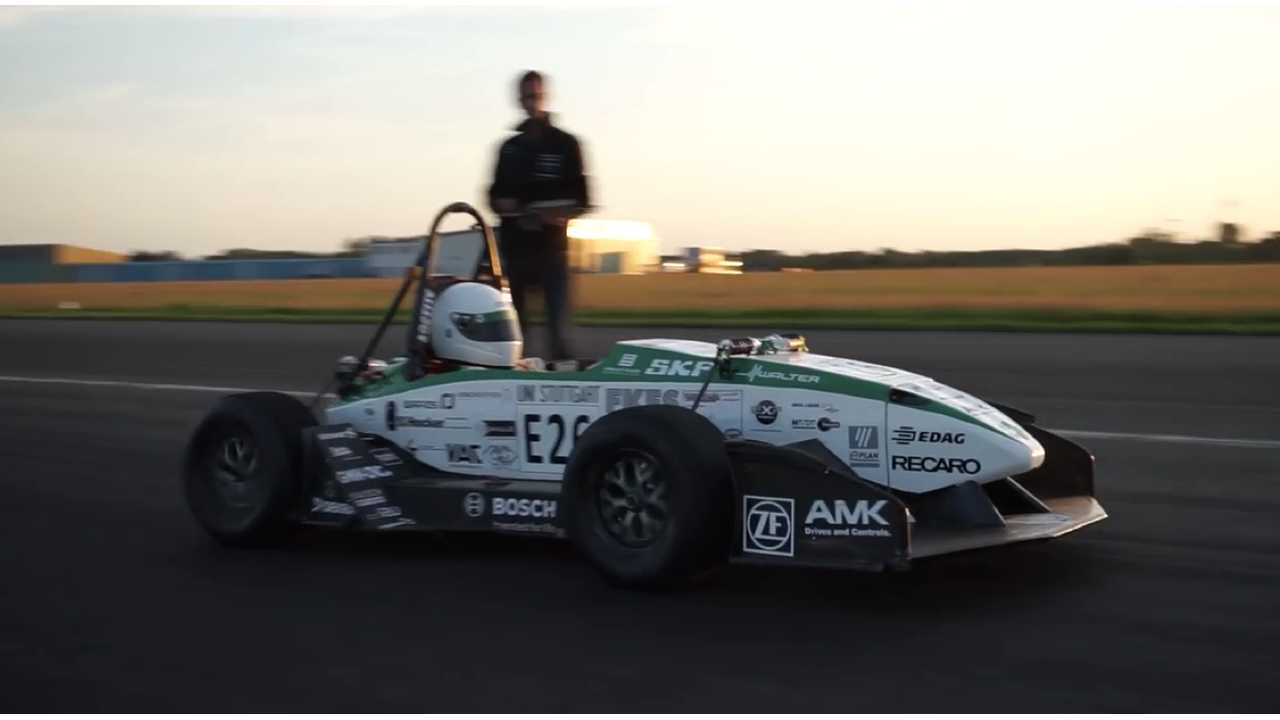 New Formula Student World Record Set By Electric Car - 0 To 62 MPH In 1.779 Seconds - (w/video)