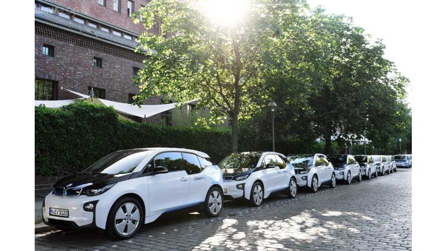 BMW DriveNow Adds More i3s To Fleets