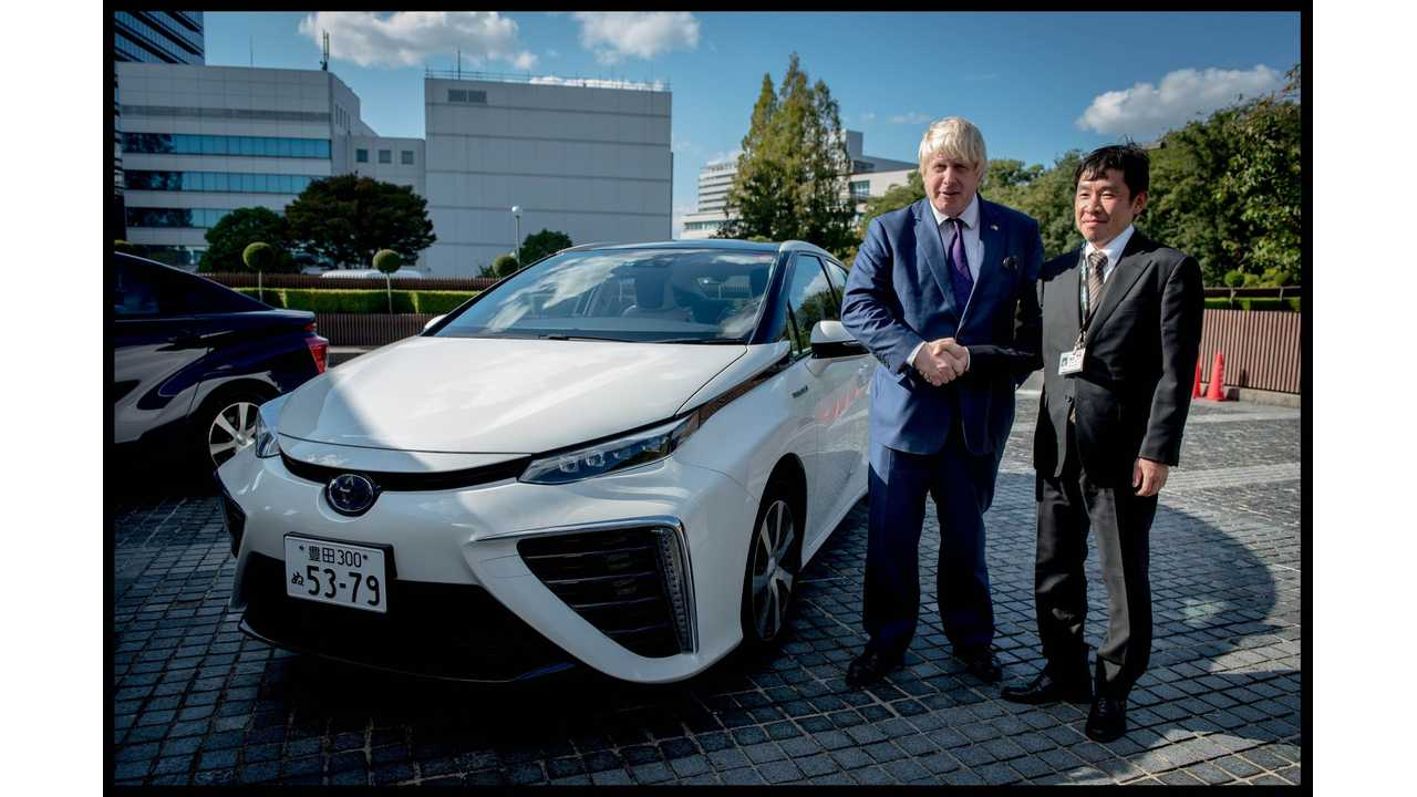 ITM Power Takes Delivery Of UK's First Toyota Mirai