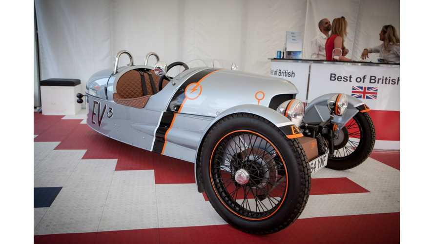Electric Morgan EV3 To Launch In Geneva
