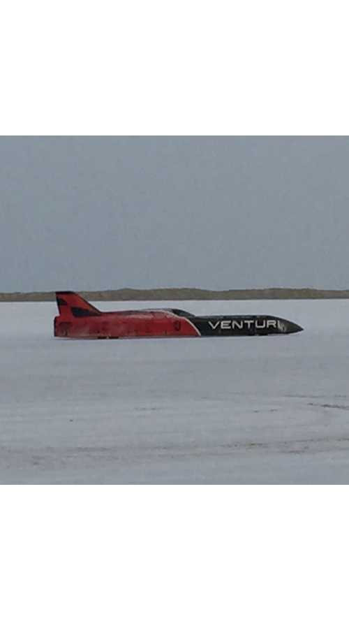 Venturi VBB-3 Sets New One-Mile Land Speed Record - (w/video)