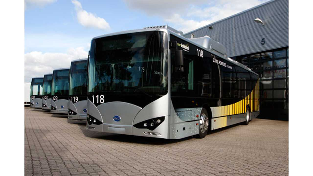 BYD Helps Schiphol Become One Of The World's Greenest Airports - Video