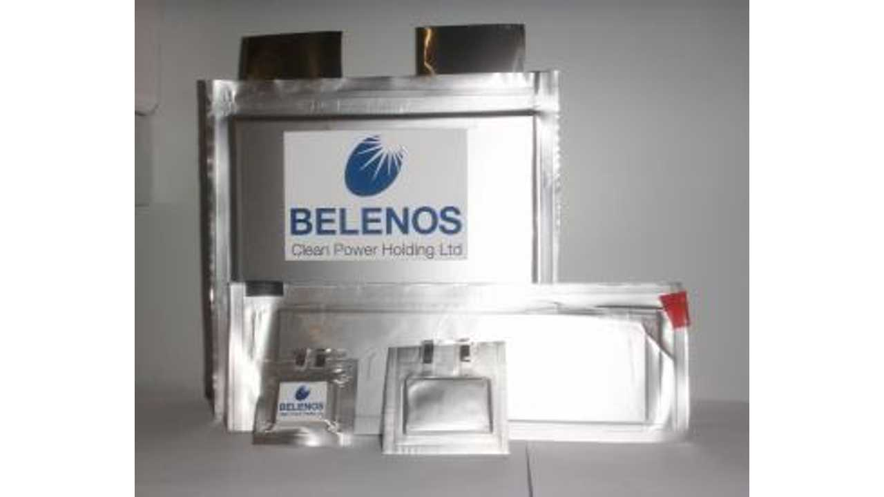 Belenos Clean Power Holding's battery cells