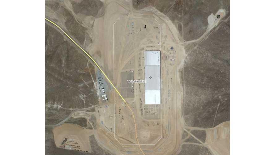 Satellite Image Of Tesla Gigafactory