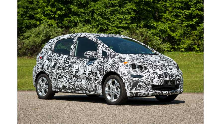 Production Chevrolet Bolt To Be Unveiled In January