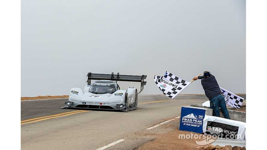 UPDATE 2 - WATCH RACE VIDEO - Volkswagen I.D. R Sets All-Time Pikes Peak Record