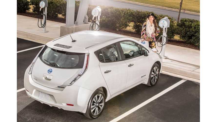 "Indianapolis Included In Nissan LEAF ""No Charge to Charge"" Program"