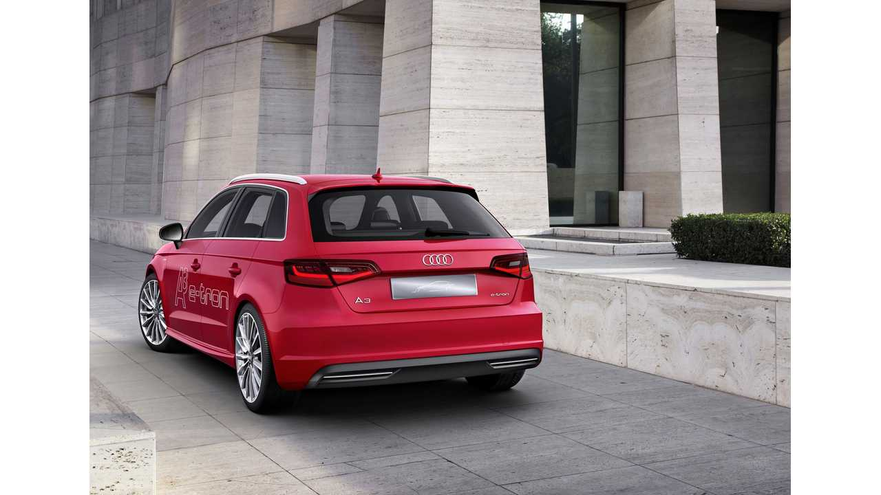 A3 Sportback e-tron Takes 2% Of Total U.S. Audi Sales This Year