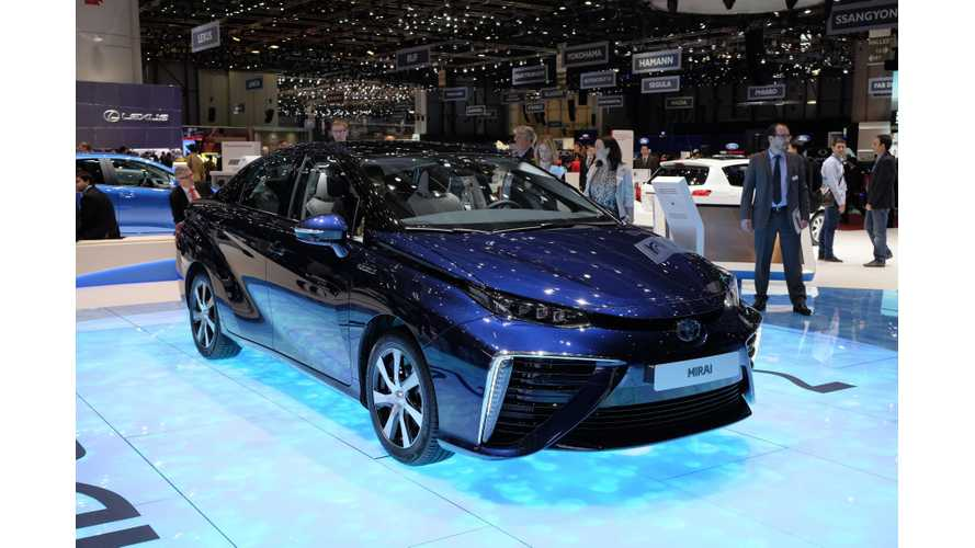 Toyota Mirai Covers 100,000 km (62,000 miles) In 107 Days