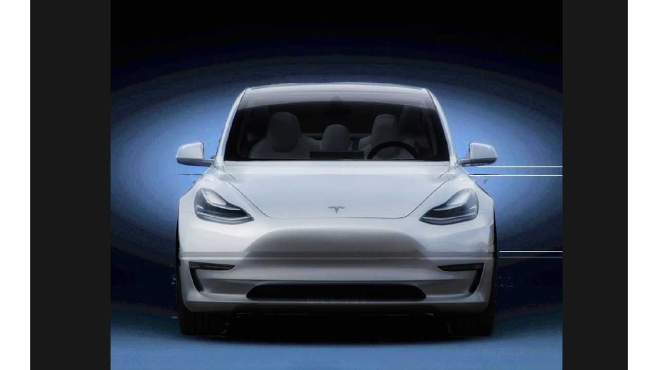 Tesla Model Y Rendered Into View From Newest Tesla Teaser