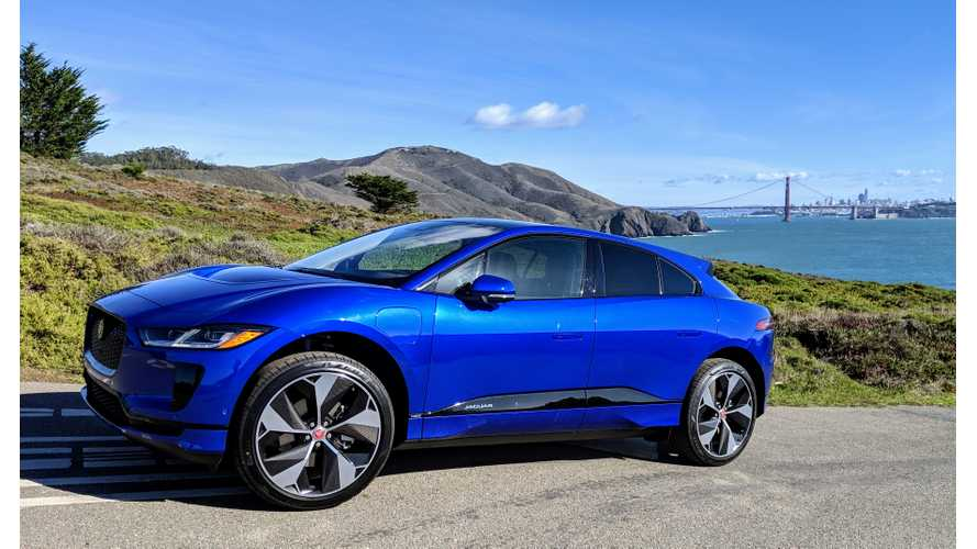 Jaguar I-PACE Accounts For Almost 6% Of Jaguar Sales In U.S.