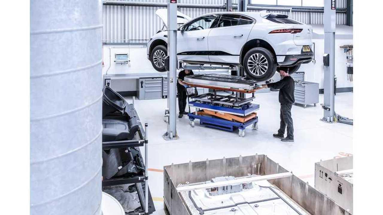Jaguar I-Pace programme de recyclage