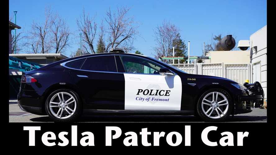 Video Interview: Fremont Police Captain Talks Tesla Model S Patrol Car