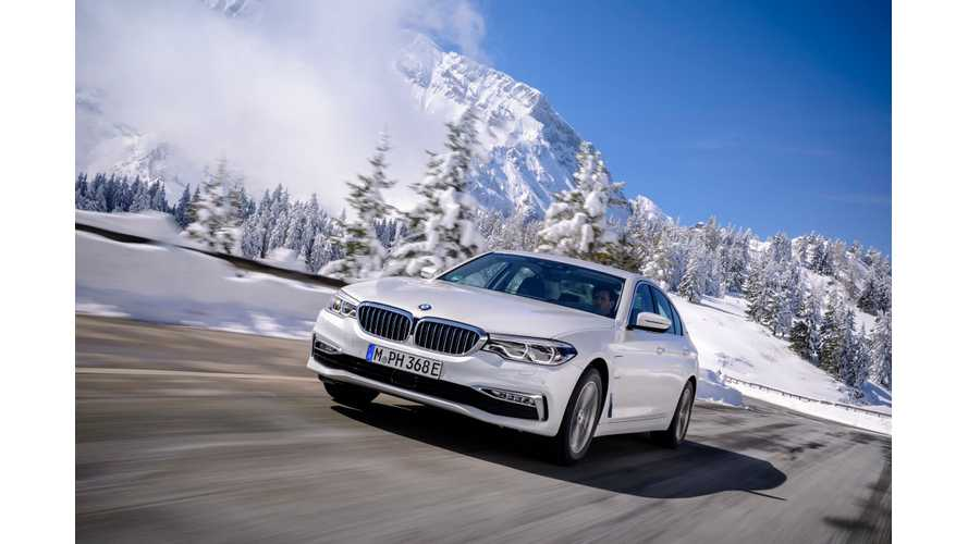 BMW Plug-In Electric Car Sales In U.S. Down In March By 55.7%