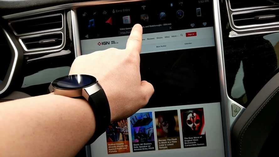 Tesla's New Browser Finally Arrives, 2X Faster