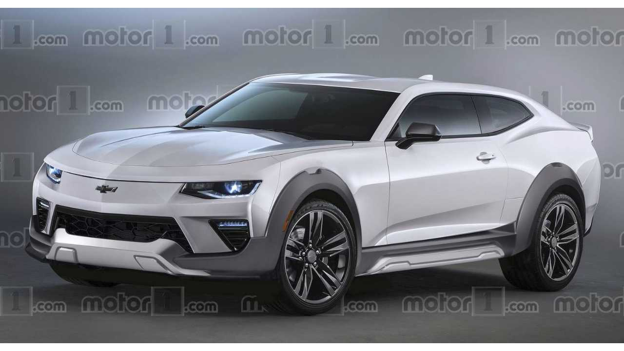 Chevy Camaro Performance Electric CUV Comes To Life