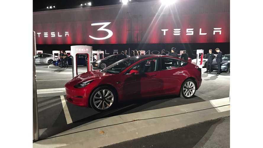 Dual-Motor Tesla Model 3 VINs Now Being Registered