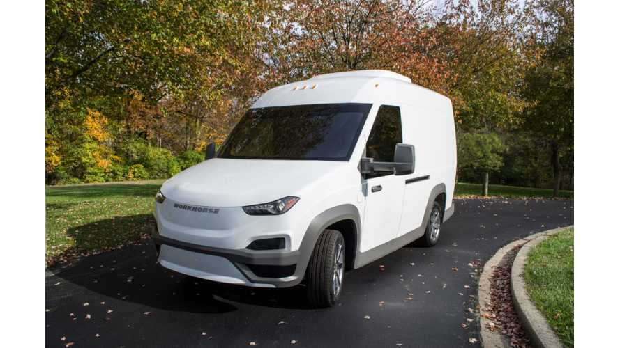 Workhorse Unwraps New N-Gen Electric Van With Optional Delivery Drone