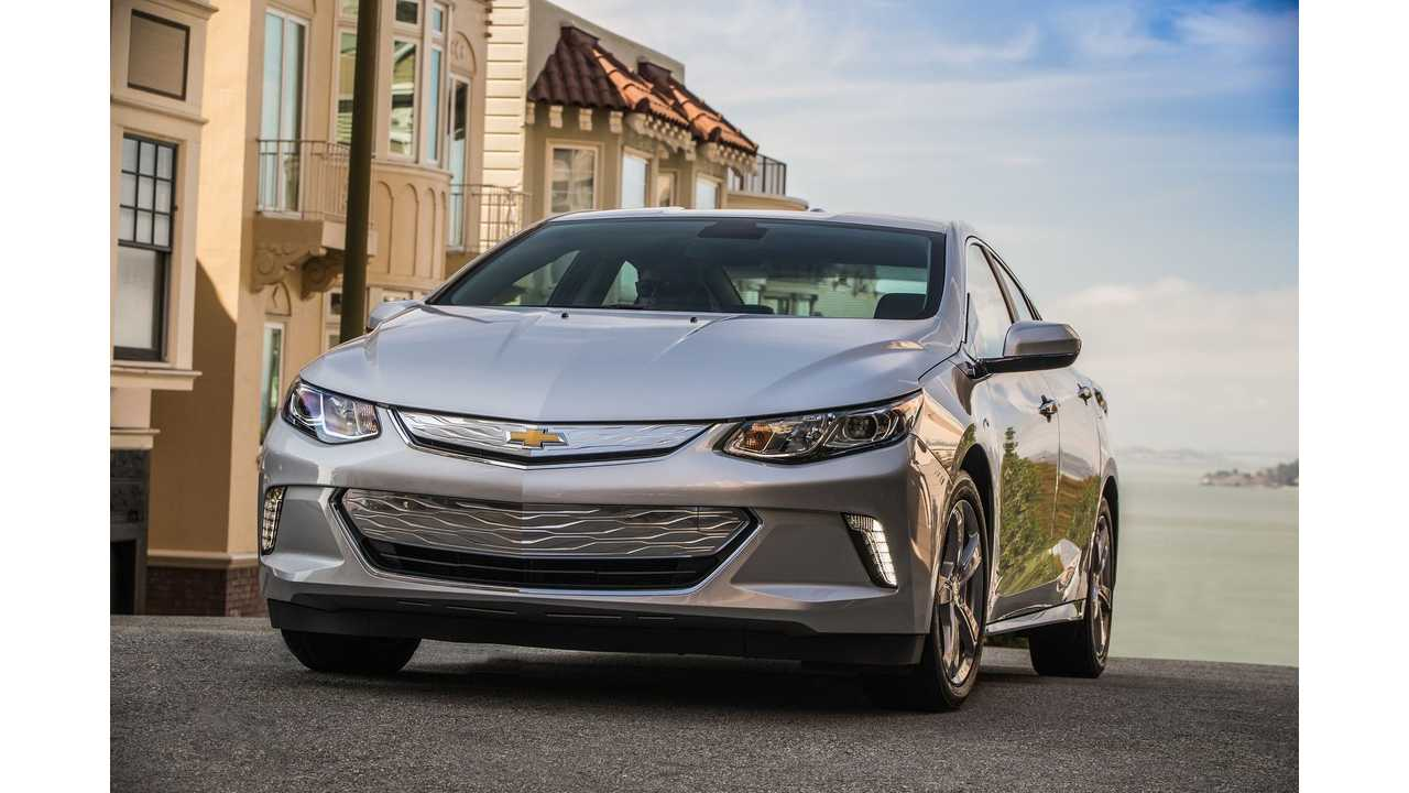 Chevrolet Volt An Ever Growing Field Of Plug In Hybrid Compeors Has Cut