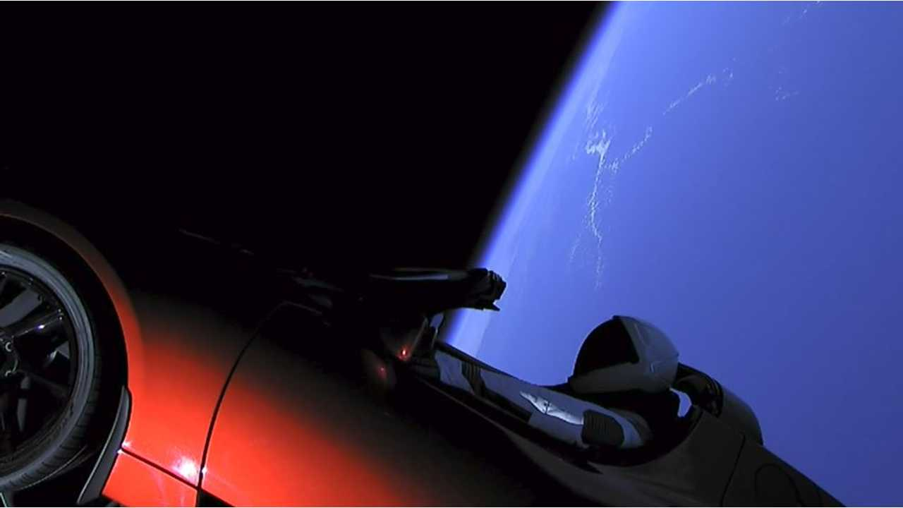Roadster In Space