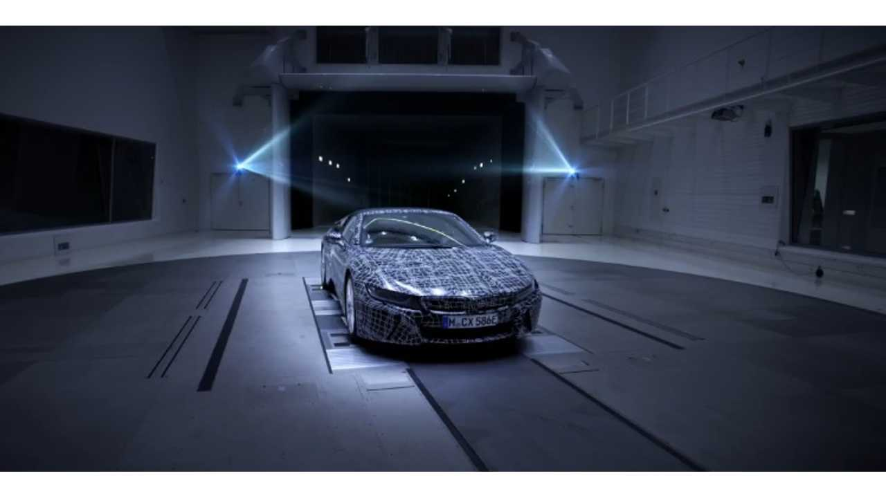 BMW i8 Roadster To Get Power Bump, Freshened Cabin