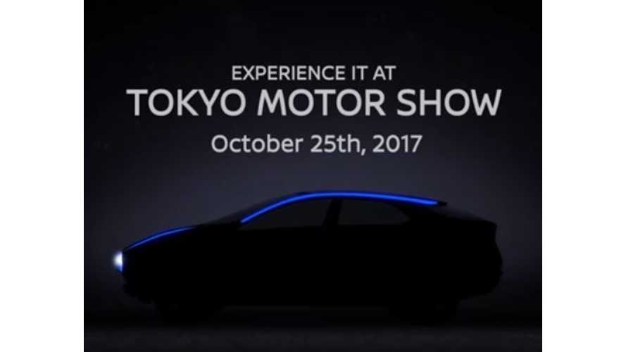 Nissan Teases What's Surely An All-Electric SUV/CUV For Tokyo Debut
