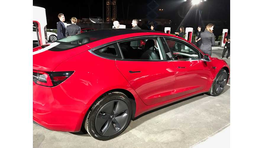 Model 3 Aero Wheels Up Efficiency By 10%, Claims Tesla VP Of Engineering