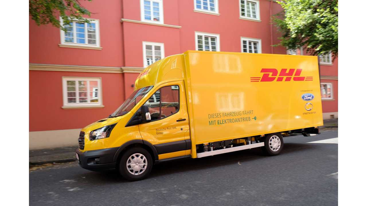 Ford, DHL Unveil StreetScooter WORK XL Electric Truck - Up