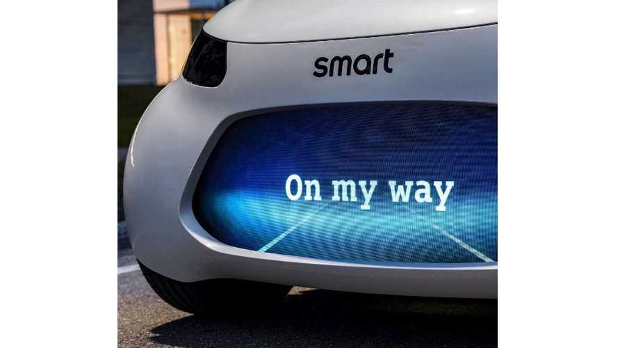 Smart Teases Electric City Vehicle Ahead Of Frankfurt Debut