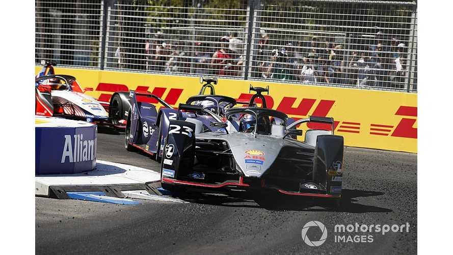 Buemi Blames Software Glitch For Formula E Crash
