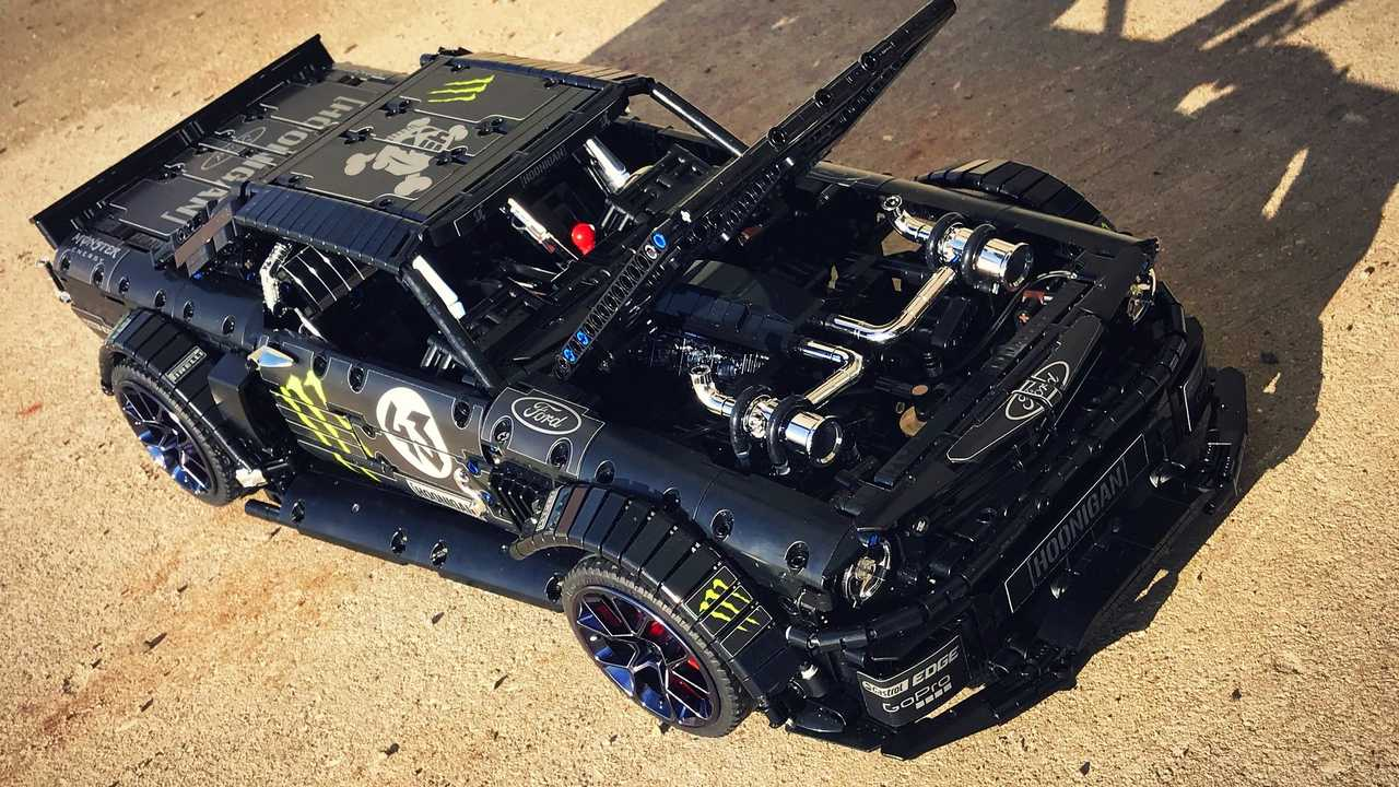Lego Hoonicorn Mustang By Lachlan Cameron