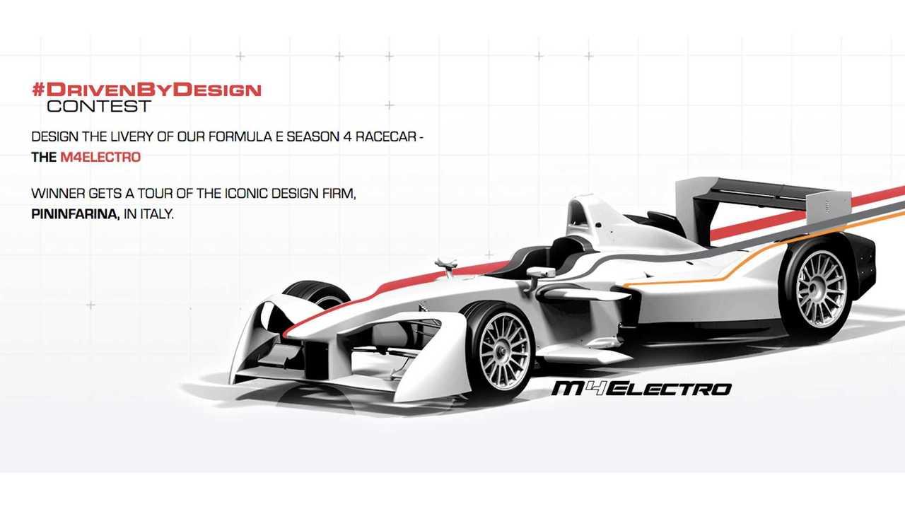 Mahindra M4Electro Formula E Racer
