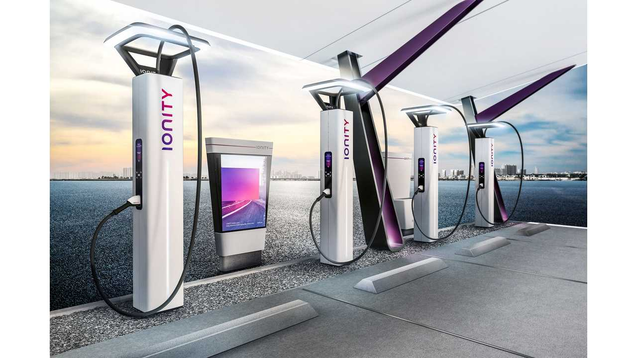 The IONITY charging station design concept