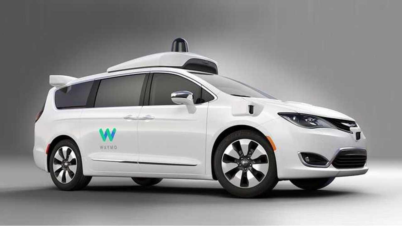 Waymo's self-driving Chrysler Pacifica Hybrid prototype