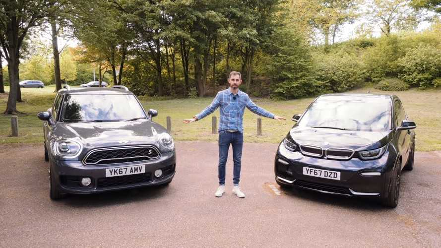 Fully Charged Compares BMW i3s With Mini Cooper PHEV