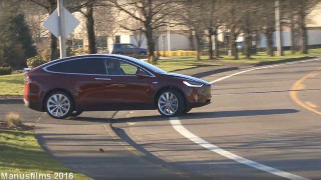First Tesla Model X In Oregon