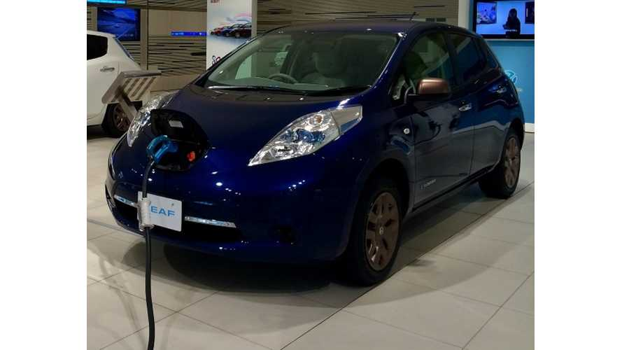 Nissan LEAF US Sales Up In May - Crosses 2,000 Threshold