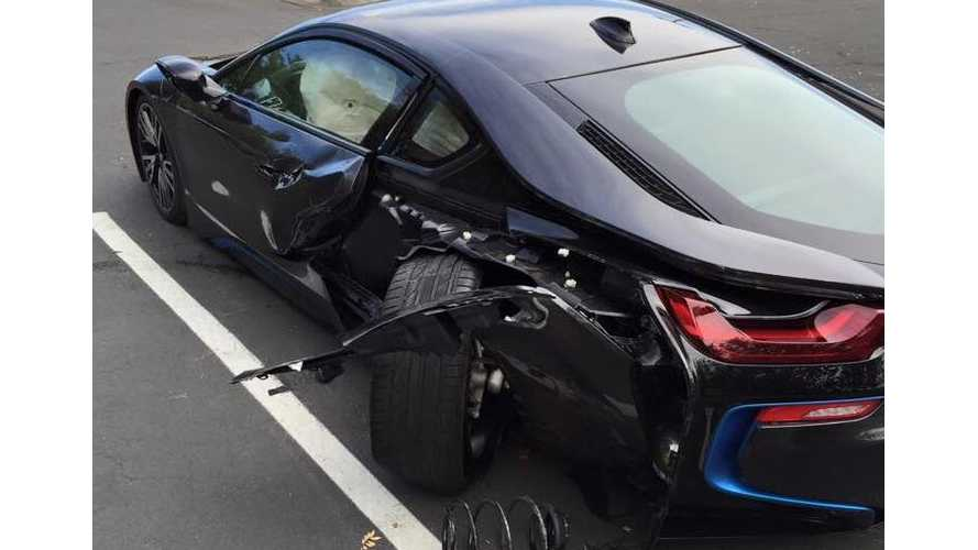 BMW i8 Gets Wrecked