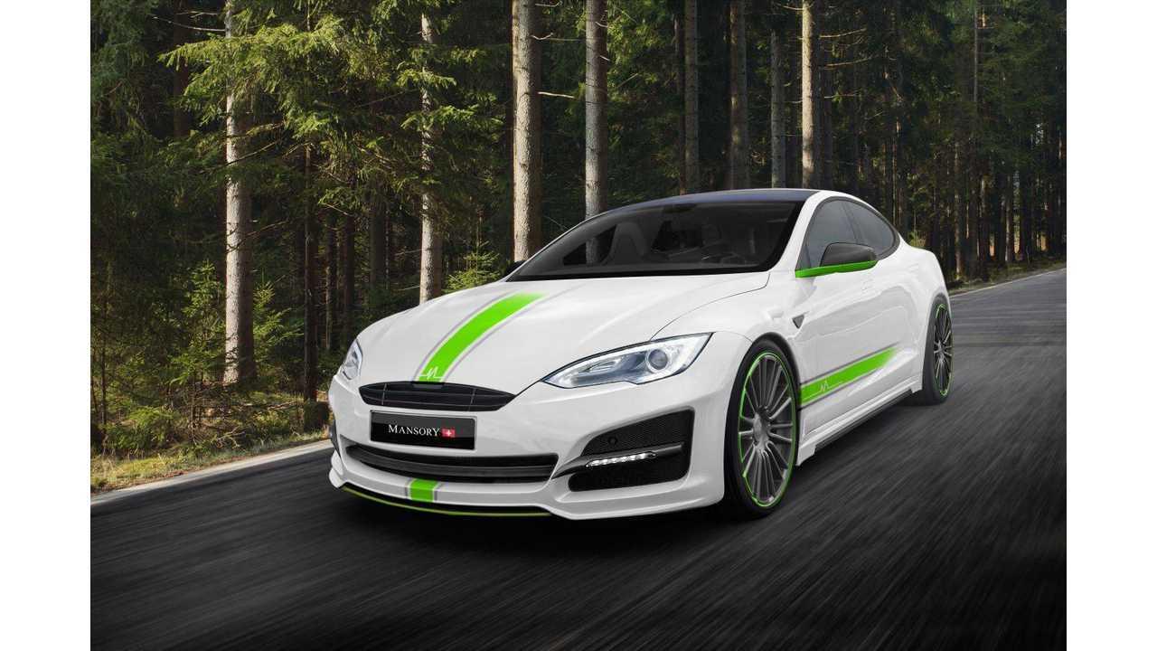 Mansory Mods Tesla Model S