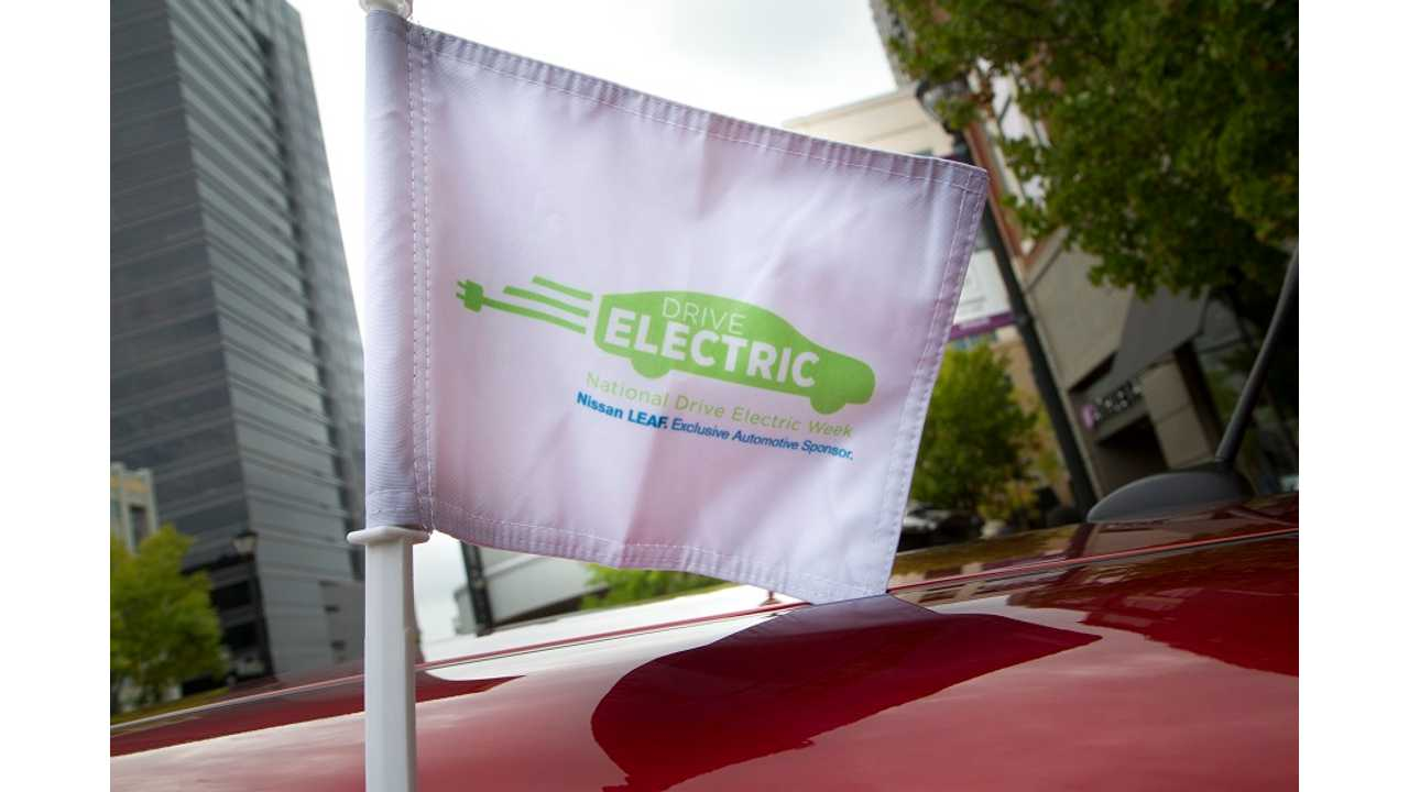 Nissan Extends Sponsorship Of National Drive Electric Week Through 2017